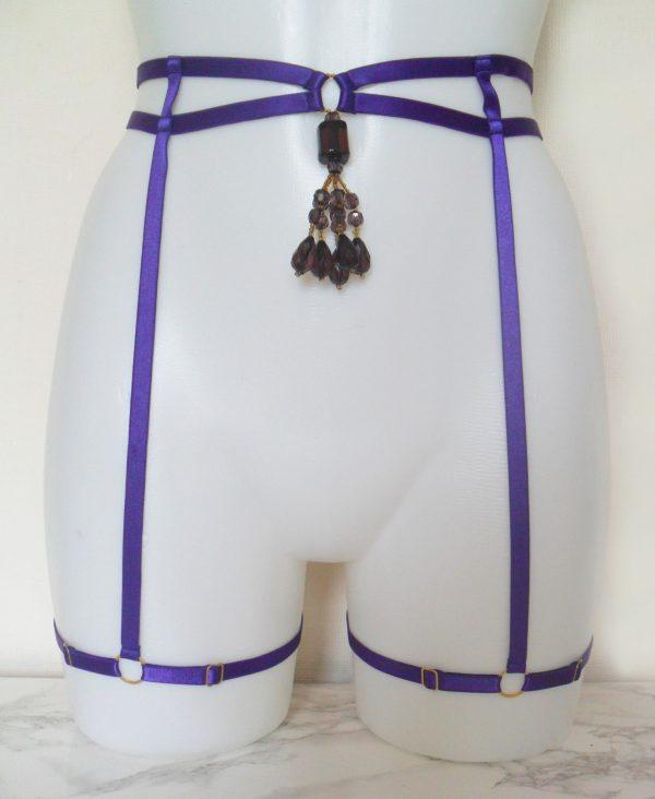 purple-beaded-satin-elastic-leg-harness-15994-p
